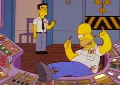 homer at the office