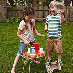 Put on a Show  Bring classic campfire entertainment home with a few crowd-pleasing backyard performances. (Keep in mind, you can still instill a love of the outdoors in your kids -- even if you live in a concrete jungle.)  Get everyone laughing with a few silly skits. Visit ultimatecampresource.com or scoutorama.com/skit for more scripts than your kids can possibly act out in a single summer.