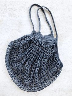 French Market Bag Crochet pattern by Two of Wands