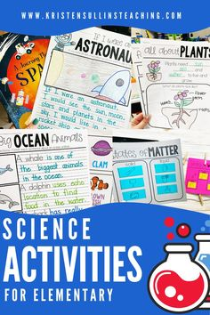 Easy click and print resources to supplement your first grade science curriculum inlcuding vocabulary, interactive notebooks, graphic organizers and cross-curricular writing. Science Curriculum, Science Lessons, Teaching Science, Science Activities, Polar Animals, Big Animals, Stem Projects, Projects For Kids, Living And Nonliving