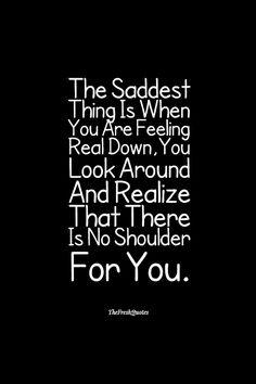 The saddest thing... #sad #depression #selfishness