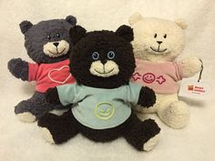 #ecological #teddybears called Mollis (means soft), Amicus (friend) and Bonitas (goodness)