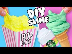 3 EASY DIY INSTAGRAM SLIME! How To Make Slime - YouTube