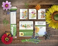 Pollinator Garden Gift Set: Give the gift of pollinators! Providing food for pollinators should be on everyone's spring garden to-do list, so spread the love with our customized flower mixes that will lure butterflies and bees to your special gardener friend's flowerbed.