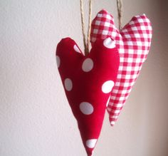 stuffed hearts; I want to make some pillows so I can jump into a bed of oddly shaped pillows every night #shopwasteland #holidaywishlist