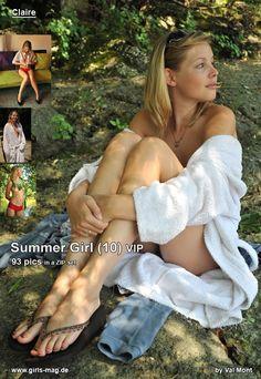 Claire: Summergirl 10 VIP - Girls-Magazine