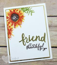 Clean and Simple feat. Stampin' UP! Painted Harvest - Luvin Stampin