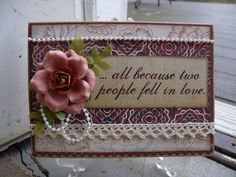 ...all because two people fell in love - Scrapbook.com