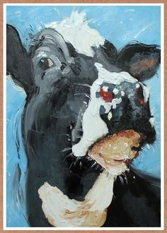 Don't Have a Cow Birthday Card