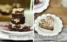 White Chocolate Cheesecake Marmor Brownies