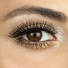 How to Re-Create the Gold Smoky Eye You Love From Pinterest: The following post was originally featured on Simply Sona and written by Sona Gasparian, who is part of POPSUGAR Select Beauty.