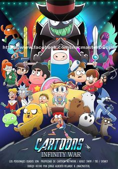 Cartoons Infinity War (Avenger Infinity War) - New Tutorial and Ideas Cartoon Crossovers, Cartoon Characters, Cartoon Shows, Cartoon Art, Desenhos Cartoon Network, Gravity Falls Funny, Desenhos Gravity Falls, Villainous Cartoon, Fandom Crossover