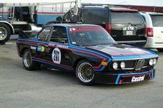 1972 BMW 3.0 CSL at Road Atlanta, 2008 by proscriptus