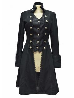 Women's Gothic Long Coat