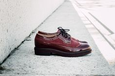 SAVVY SOLE MATAZZ CLARET #savvysole #footwear #women #shoes #leather #oxford #madeinpoland #hypefeet