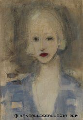 Schjerfbeck, Helene Blond Woman 1925Finnish National Gallery - Art Collections - Schjerfbeck, Helene
