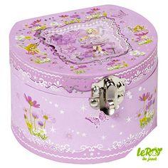 Boîte à bijoux et à musique Elfe Leroy du jouet