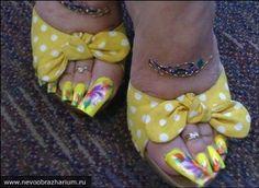Toenail Designs: Toenail Art Designs (((by far the worst, definitely))) Pretty Toe Nails, Cute Toe Nails, Cute Toes, Pretty Toes, Acrylic Toe Nails, Painted Toe Nails, White Toenails, Long Toenails, Long Nail Art