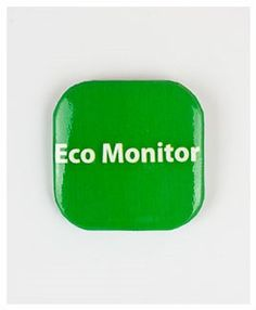 32mm Square Button Badge - Eco Monitor – London Emblem School Badges, Button Badge, Monitor, London, Badge, Badges, London England