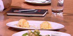 Caramelo salgado com gelado de baunilha em Chefs' Academy 2014 - receita de Luis Pereira