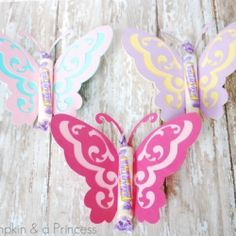 Cute Butterfly Party Favors