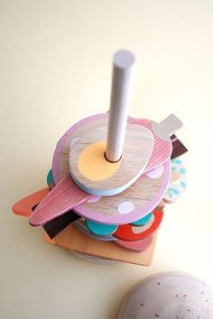 The cool kid's toys from Italian design company Studio Fludd stacks up against the competition with carefully considered and colorful wooden maniplatives to teach biodiversity and healthy eating Presents For Kids, Unique Presents, Gifts For Kids, Toddler Toys, Baby Toys, Kids Toys, Stacking Toys, Montessori Toys, Designer Toys