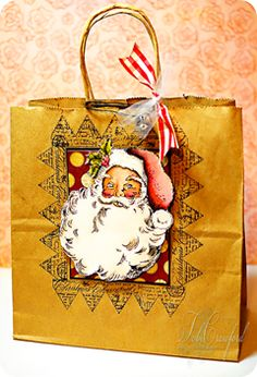 BlogStar Tobi Crawford has a great project for you today, and it uses one of our most popular stamps this year. Our Jumbo Vintage Santa blasted through our warehouse and sold out in record time thi...