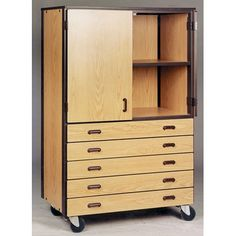 Perfect Large Storage Cabinet With Doors