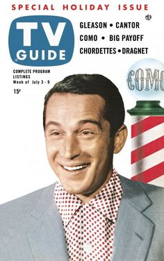 TV Guide, July 3, 1953 - Perry Como