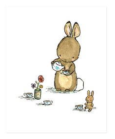Another great find on #zulily! Tea for Me Print #zulilyfinds
