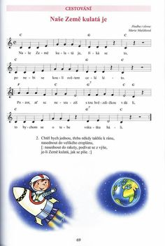 Dinosaur Party, Kids Songs, Solar System, Preschool Activities, Singing, Crafts For Kids, Teaching, Notes, Sheet Music