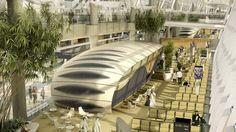 VIIIe Prix PORCELANOSA : mention spéciale pour le Cabinet Kohn Pedersen Fox  Abu Dhabi International Airport #PorcelanosaAwards #architecture