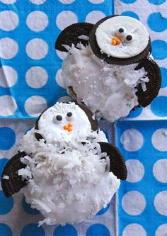 Penguin Cupcakes  maybe for the alumni ceremony this weekend girls?