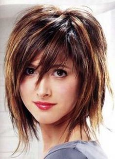30 Short Shaggy Haircuts: #20. Cute Balayage Colored Shaggy Hairstyle