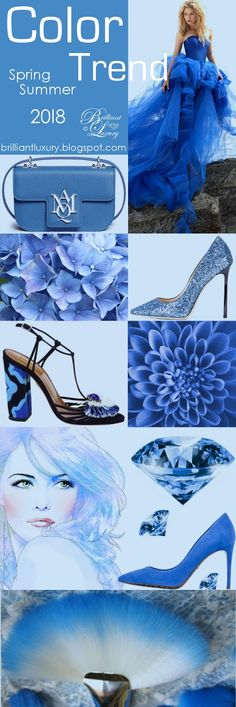 Brilliant Luxury ♦ Color Trend 2018 Festival ~ Azure Blue
