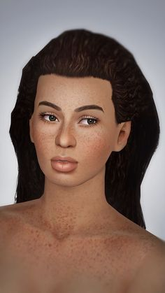 Sunkissed Freckled Fruit ND Skin by Kurasoberina - Sims 3 Downloads CC Caboodle