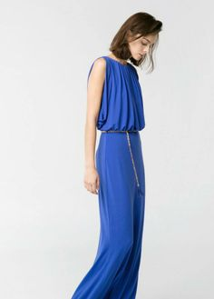#Mango #Long #Dress #SS14