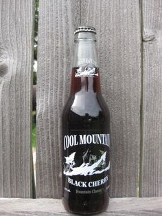 Cool Mountain Black Cherry from Homer Soda