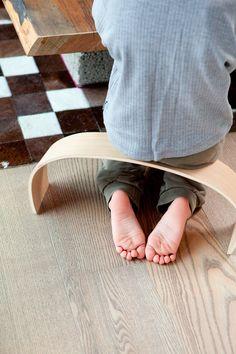"""Meditation Takes Form"" with Takeform's Meditation Stools (www.takeform.fi; photo: Sininen Kuva, Sipoo FIN) ⎮ recyclie.blogspot.fi"