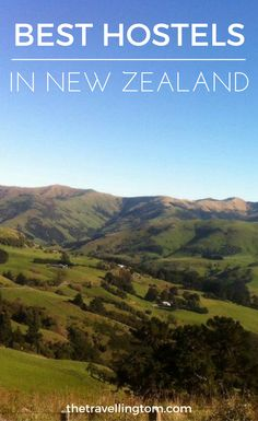 Ultimate guide to the best hostels in New Zealand. If you want to know where to stay in New Zealand, then this guide is for you! Check out my guide to the best hostels in New Zealand now!