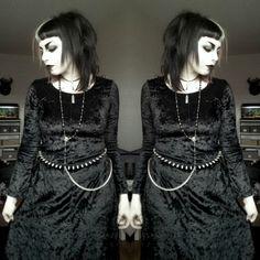kinda in love with my new velvet maxi dress