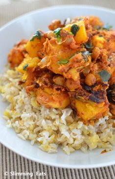 "Quick ""Leftovers"" Curry 