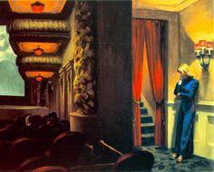 Filme em Nova Iorque - Edward Hopper e suas principais pinturas ~ O pintor da solidão
