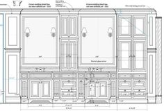 » 2014 » February Vintage Architecture, Classic Architecture, Architecture Drawings, Construction Documents, Construction Drawings, Interior Design Presentation, Building Drawing, Drawing Interior, Wall Molding