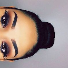 "brow&lashco on Instagram: ""LASHES DID BROWS DID HAIR DID.  #browgame... ❤ liked on Polyvore featuring beauty products, makeup, eye makeup, false eyelashes and eye brow makeup"