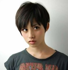 Short Hairstyle for Asian Girl | http://www.short-haircut.com/short-hairstyle-for-asian-girl.html
