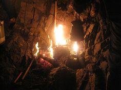 Encesa de la Flama al cim del Canigó.