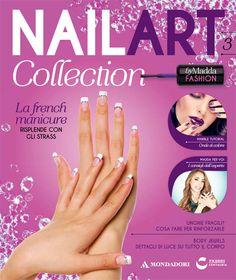 Terza uscita di #NailArt #Collection. #Smalto bianco + Ruota di strass + Lunette per la french e come sempre consigli pratici e tanti segreti per unghie sempre al TOP!