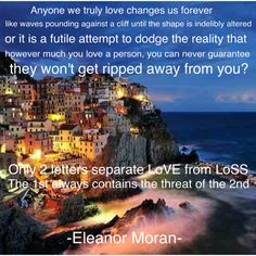 From The Last Time I Saw You by Eleanor Moran