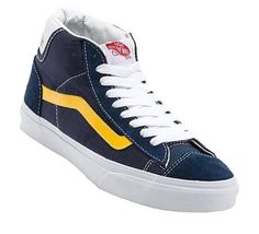 Vans - Mid Skool 77 Shoe Skateboarder navy/yellow